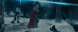 Thor Battling HYDRA Soldiers