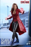 Scarlet Witch Civil War Hot Toys 2