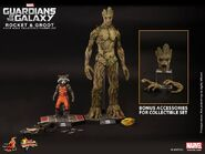 Groot Rocket Hot Toys