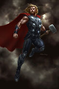 Andyparkart-the-avengers-thor