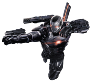 Civil War War Machine Char art 2