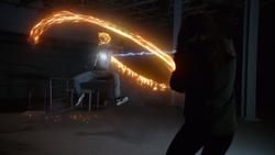 Ghost Rider Fights Aida