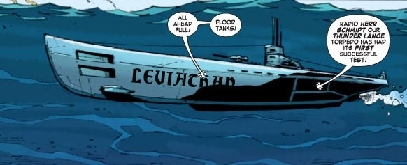 Leviathan Submarine Marvel Cinematic Universe Wiki
