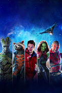 Textless GOTG Blu-Ray Cover