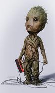 Baby Groot concept art 1