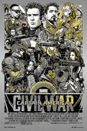 Captain America Civil War Mondo Poster 3