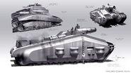 HYDRA tank concept 2