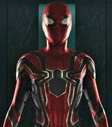 Official Avengers Spider-Man Suit