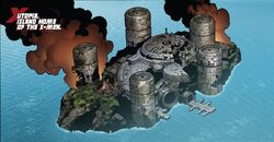 Post Second Coming battle Utopia (X-Men Base) 01