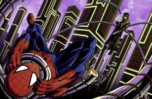 Spider-Man vs Doc Ock Concept Art