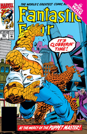 Fantastic Four Vol 1 367