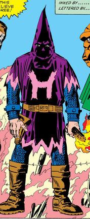 Hate-Monger original costume seen in Fantastic Four Vol 121