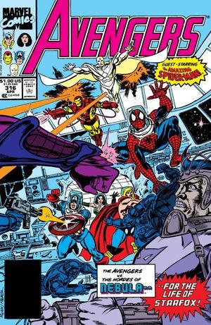 Avengers Vol 1 316