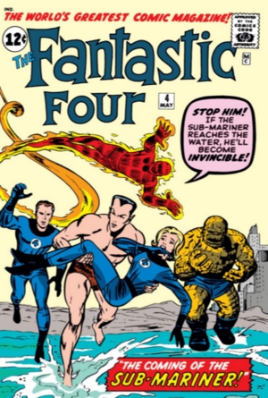 Fantastic Four Vol 1 4