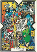 Crazy Gang (Earth-616) from Excalibur Trading Cards 0001