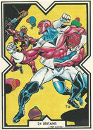Brian Braddock (Earth-616) from Excalibur Trading Cards 0004