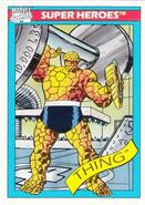 Benjamin Grimm (Earth-616) from Marvel Universe Cards Series I 0001