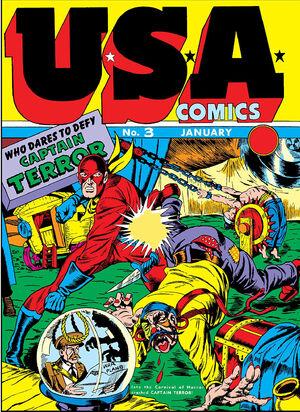 U.S.A. Comics Vol 1 3