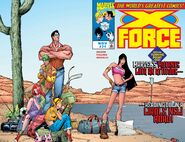 X-Force Vol 1 71 Wraparound Cover
