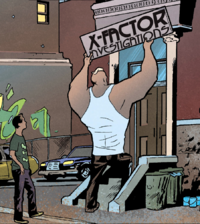 X-Factor Investigations Headquarters from X-Factor Vol 3 1 0001