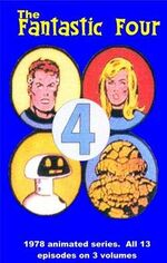 Fantastic Four 1978 cartoon