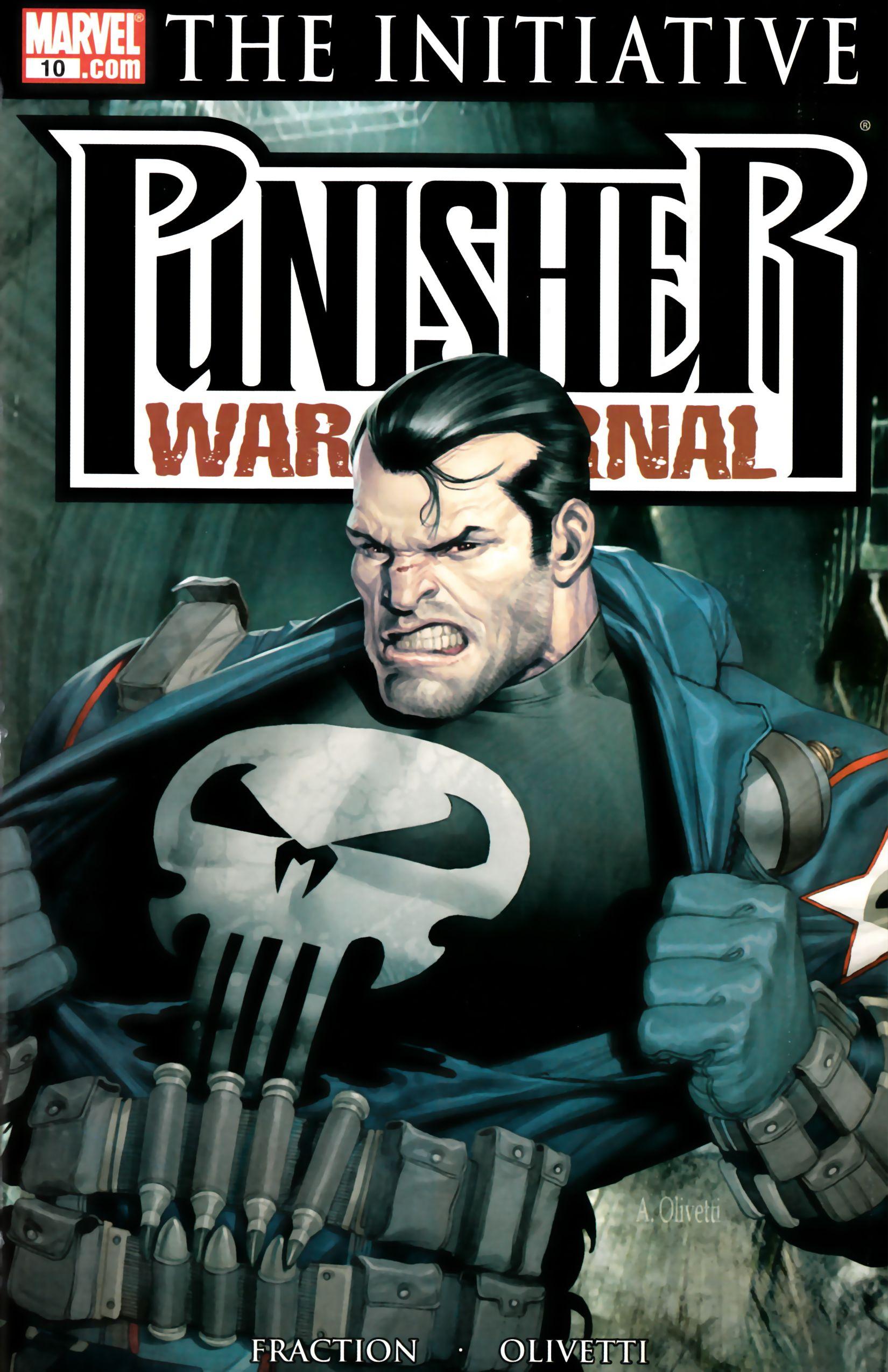 Resultado de imagem para Punisher War Journal 2007