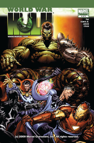 World War Hulk Vol 1 4