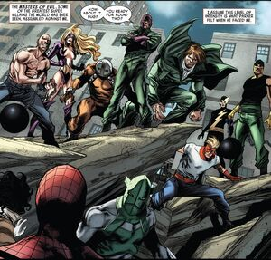 Masters of Evil (Earth-616) from Superior Spider-Man Team-Up Vol 1 6 001