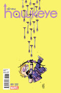 All-New Hawkeye Vol 1 1 Baby Variant
