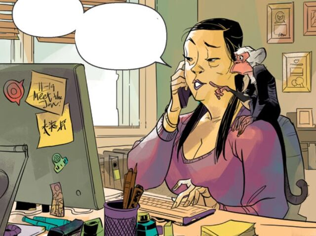 File:Angie Huang (Earth-616) and Hei Hei (Earth-616) from Guardians Team-Up Vol 1 4 001.jpg
