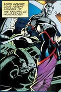 Delphis (Earth-616) from Heroes for Hire Quicksilver Vol 1 1998 001