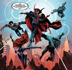 Avengers of the Supernatural (Earth-616) from Uncanny Avengers Annual Vol 1 1 0001