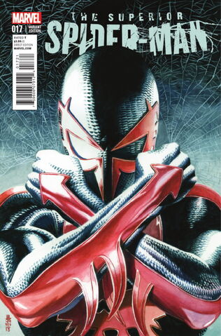 File:Superior Spider-Man Vol 1 17 Jones Variant.jpg