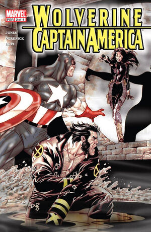 Wolverine Captain America Vol 1 2