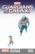 Marvel Universe Guardians of the Galaxy Infinite Comic Vol 1 5