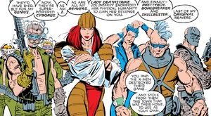 Reavers (Earth-616) from Uncanny X-Men Vol 1 251 001