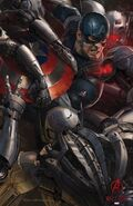 Avengers Age of Ultron concept art poster 004