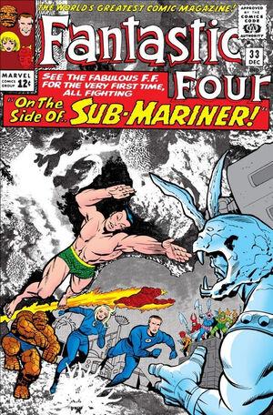 Fantastic Four Vol 1 33