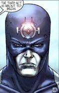 Blackagar Boltagon (Earth-616) wearing Ronan's antenna from Inhumans Vol 3 2