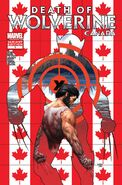 Death of Wolverine Vol 1 1 Canada Variant