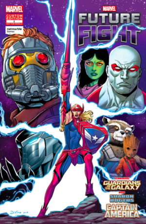 Marvel Future Fight An Eye on the Future Vol 1 1