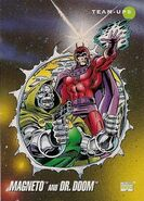 Max Eisenhardt and Victor von Doom (Earth-616) from Marvel Universe Cards Series III 0001