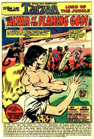 File:Tarzan Vol 1 3 The Altar of the Flaming God.jpg