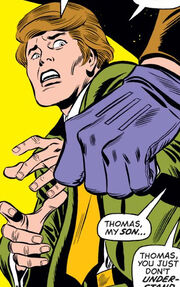 Thomas Gideon (Earth-616) as an adolescant from Fantastic Four Vol 1 134