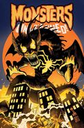 Monsters Unleashed Vol 3 6 Venomized Fin Fang Foom Variant Textless