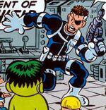 Nicholas Fury (Earth-99062) Hulk and Power Pack Vol 1 2