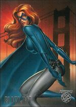 Barbara Hardy (Earth-9602) from Amalgam Comics (Trading Cards) 0001