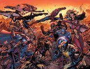 New Avengers Vol 1 50 Textless Wraparound