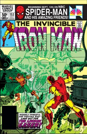 Iron Man Vol 1 153