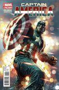 Captain America Vol 7 16.NOW Bermejo Variant